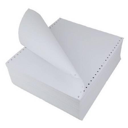 泛美达 全木浆高级电脑打印纸 241-1一联白色 5箱/件(整张、二等分、三等分)