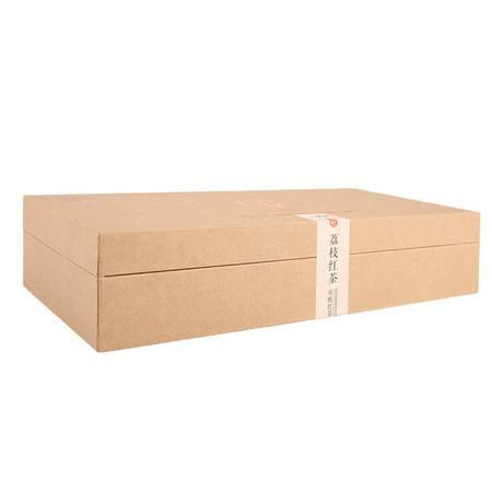 荔枝红茶有机特级正山小种大礼盒装福建三紫茶品牌直销包邮