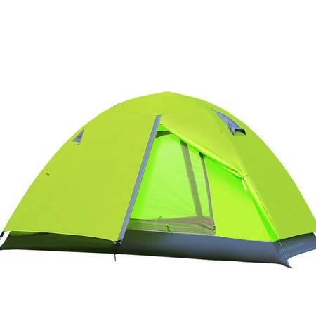 徽羚羊帐篷户外 羚羊八号双人双层野营装铝杆防雨野外露营帐篷