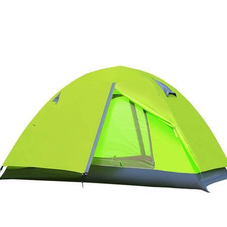 徽羚羊帐篷户外羚羊八号双人双层野营装备玻杆防雨野外露营帐篷