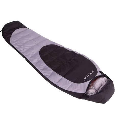 徽羚羊羽绒睡袋 户外野营睡袋冬季野营保暖 单人M款鸭绒睡袋