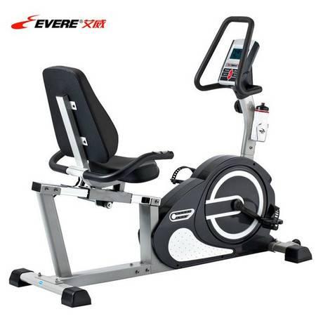 艾威RC6850卧式磁控健身车靠背式 康复运动单车室内健身懒汉车