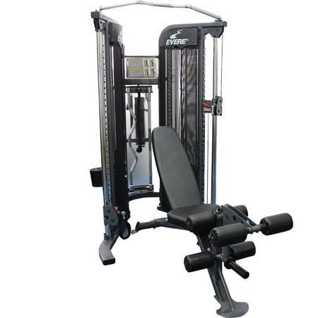 艾威综合训练器力量训练器GM6910组合健身房家用单人站史密斯大飞鸟
