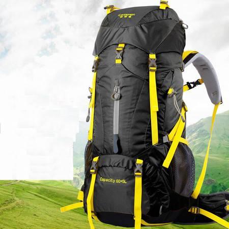 柯瑞普登山包YD-236户外包双肩包60+5L男女旅行包徒步背包防水