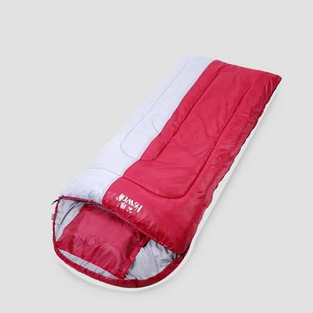 公狼Hewolf户外睡袋加厚冬季成人保暖睡袋1645 加宽可拼接成双人