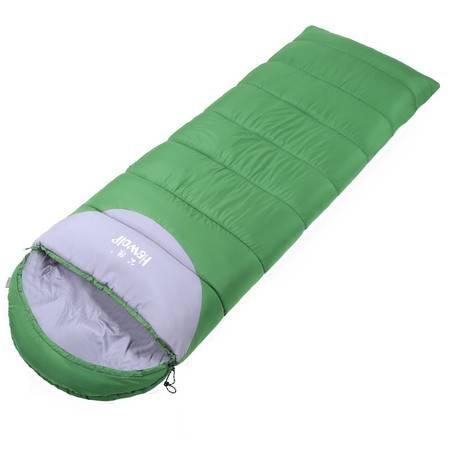 公狼睡袋可拼接午休加厚成人春夏秋冬季保暖超轻户外露营野营睡袋