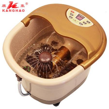 康豪足浴盆KH8835全自动按摩洗脚盆电动加热泡脚盆足浴器足疗盆