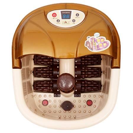 康豪足浴器KH8833全自动电动按摩足浴盆按摩洗脚盆加热泡脚器深桶