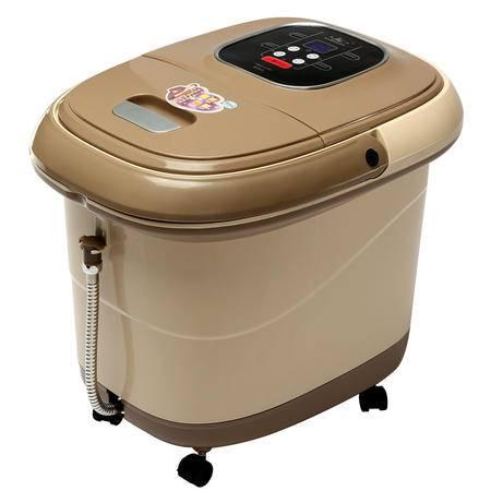 康豪足浴盆KH8778全自动按摩洗脚盆电动加热泡脚桶足疗盆足浴器