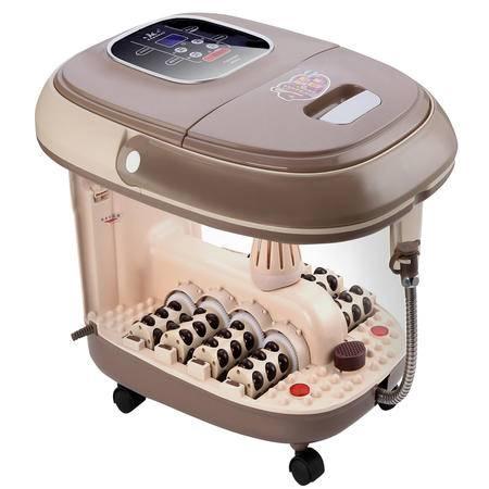 康豪KH-8668足浴盆全自动按摩洗脚盆电动按摩加热泡脚盆深桶足浴器