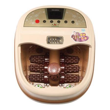 康豪足浴盆KH8817全自动按摩洗脚盆电动加热泡脚盆深桶足浴器