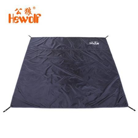公狼户外帐篷保护席小号超轻防潮垫子 沙滩席 野餐地布 坐垫 天幕