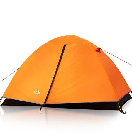 柯瑞普户外帐篷双人双层四季铝杆帐篷露营沙滩帐篷 双层防雨帐篷