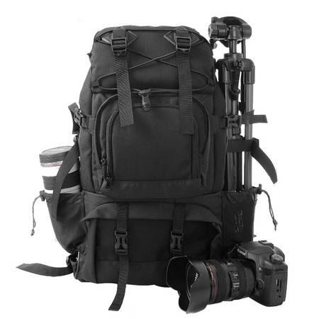 柯瑞普双肩摄影包佳能尼康单反相机包专业防盗摄像机包数码背包