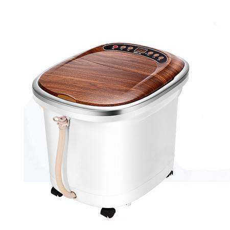 美妙足浴器全自动按摩 洗脚盆 电动按摩加热泡脚桶足疗深桶足浴盆