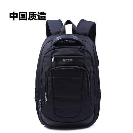 尊帝双肩背包时尚韩版旅行包男14寸电脑商务包女中学生书包潮校园ZD156136