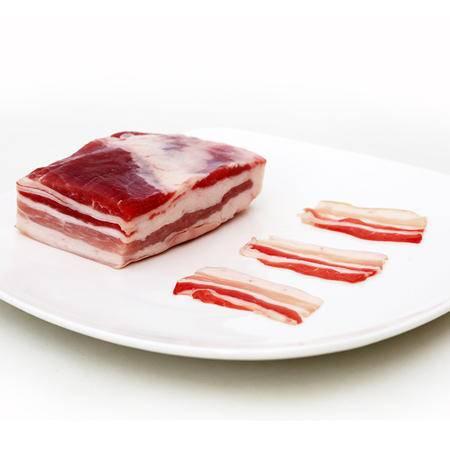 【百科有机】  牛奶猪  五花肉  冷藏鲜肉  500g