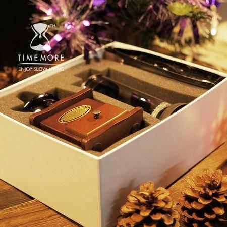 TIMEMORE 心动法压壶咖啡壶礼盒 磨豆机+法压壶+精品咖啡豆 包邮