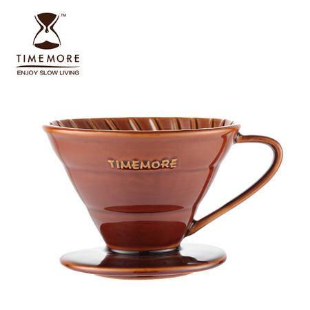 TIMEMORE 泰摩咖啡陶瓷滴漏杯 家用手冲咖啡壶 滴滤壶 送滤纸