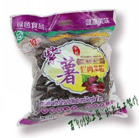 紫薯烂肉粉条500g