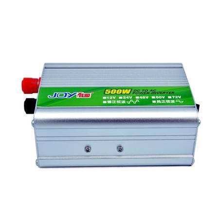 俱源接反保护24V500W逆变器(送点烟器、鱼尾夹连接线)