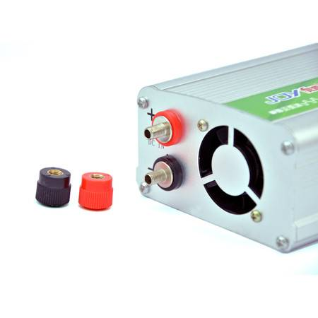俱源多重保护12V1200W车载逆变器(送点烟器、鱼尾夹连接线)