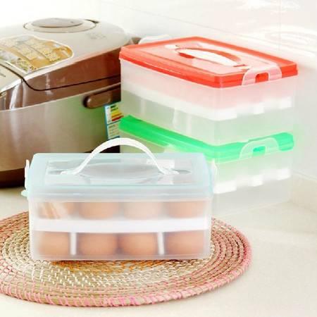 慢悠品 收纳盒 鸡蛋收纳盒多功能收纳盒