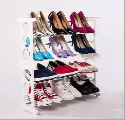 慢悠品 鞋架 韩式多功能创意鞋架
