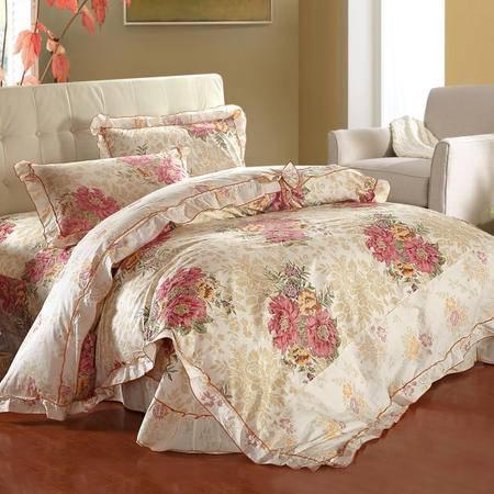VIPLIFE纯棉四件套 全棉床单被套200*230cm 专柜正品 2016新品首发