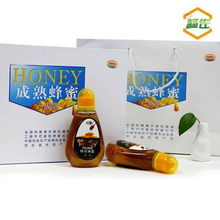 杨佐正品狼牙山农家纯天然蜂蜜 礼盒包装原蜜蜂蜜新鲜500gx2