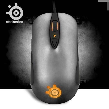 赛睿(SteelSeries)Sensei 职业级 1680万色 幻彩激光游戏鼠标