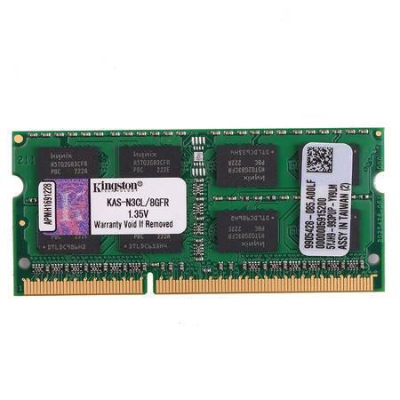 金士顿(Kingston) DDR3 1600 8GB 华硕1.35V低电压 笔记本内存条