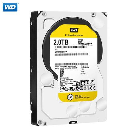 WD/西部数据 WD2000F9YZ 企业级3.5寸硬盘 2T SE服务器 SATA接口
