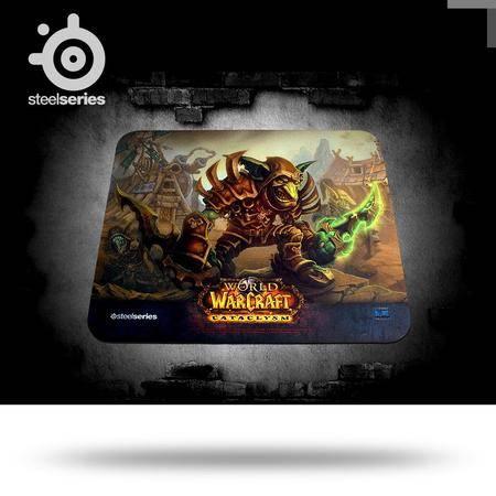 SteelSeries赛睿 QcK 魔兽世界 哥布林限量版布面专业 游戏鼠标垫