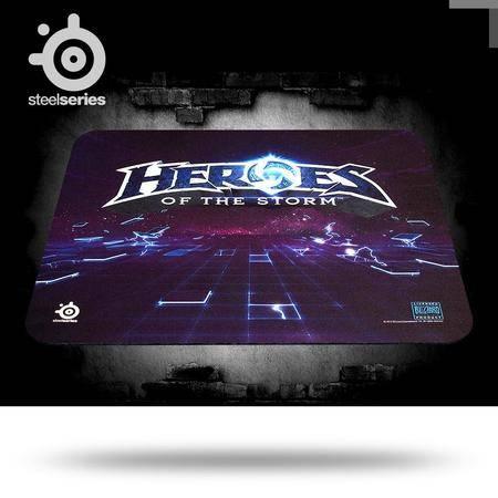 SteelSeries赛睿 QcK 风暴英雄Logo 限量版专业布面 游戏鼠标垫