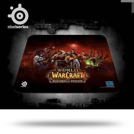 SteelSeries赛睿 QcK 魔兽世界 德拉诺之王限量版专业 游戏鼠标垫