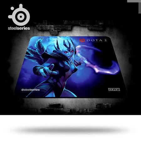 SteelSeries赛睿 QcK+ DotA2 复仇之魂限量版大号 游戏鼠标垫