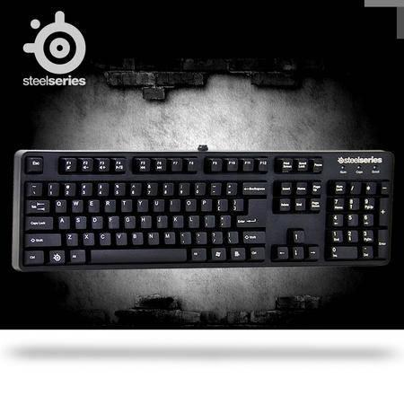 SteelSeries赛睿 6G v2 黑轴版有线电竞 游戏机械键盘