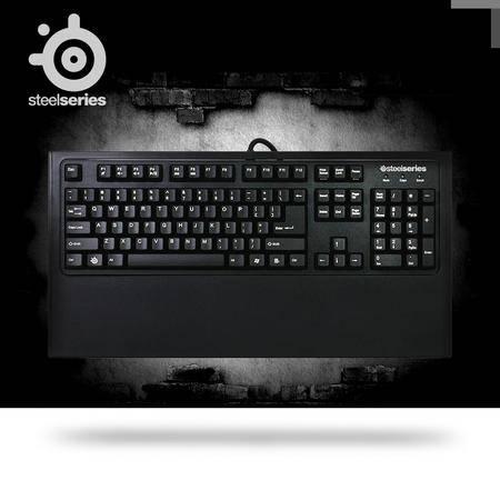SteelSeries赛睿 7G 黑轴有线电竞  游戏机械键盘  全键无冲