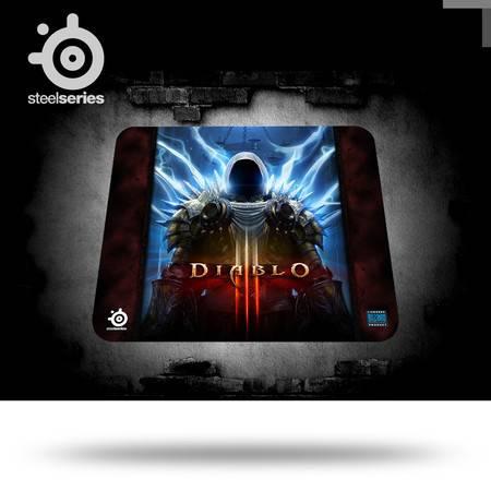 SteelSeries赛睿 QcK+ 暗黑破坏神3 泰瑞尔限量版大号 游戏鼠标垫
