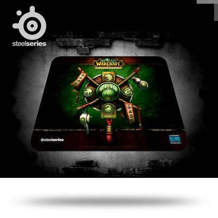 SteelSeries赛睿 QcK 魔兽世界 熊猫人徽标限量版专业 游戏鼠标垫