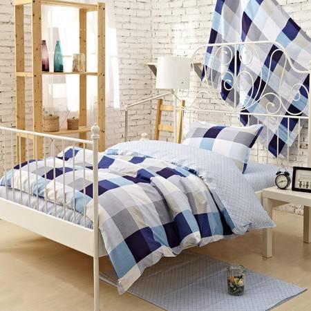 Johnson乔森 阳光梦想全棉学生三件套 纯棉床上用品三件套 1.2米床用