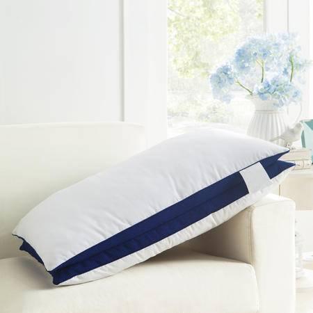 Johnson 乔森 五星级超柔蓬松护颈保健枕头 潮流复合羽丝绒枕芯 单只装