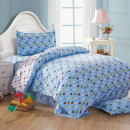 Johnson乔森 全棉学生宿舍三件套 纯棉床上用品三件套 1.2米床用
