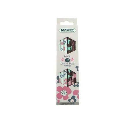 【浙江百货】晨光HB六角铅笔  花果情结 AWP35707