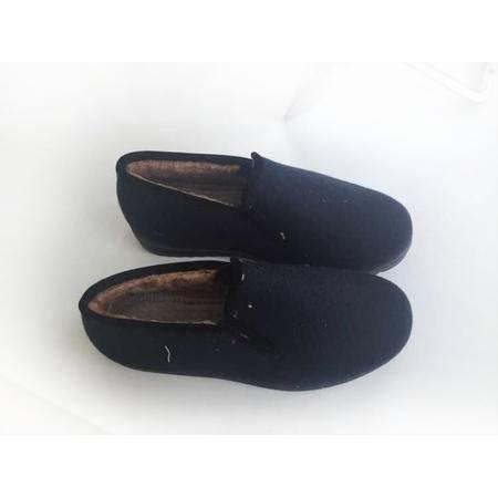 A1-0178男式尼棉鞋藏青