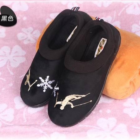DT-111425贝香琳特娇龙跟防滑棉拖鞋男室内保暖棉鞋冬季居家拖鞋