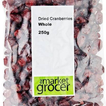 【青田馆】The Market Grocer蔓越莓干250克整粒天然零食果脯