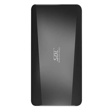 爱德龙(SDL)汽车车载移动电源 便携移动电源 笔记本手机应急电源 12000mah