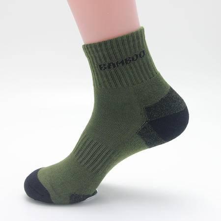 建德馆 竹兰雅 男士袜子 加厚高筒冬天袜子 竹纤维防臭袜1445-11